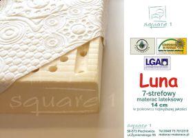 Materac lateksowy - Luna